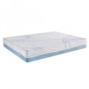 """12"""" Queen Charcoal and Gel Infused Memory Foam Mattress"""