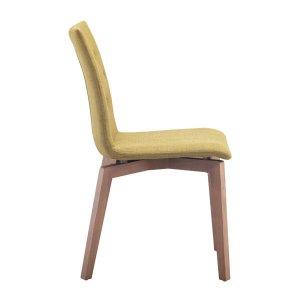 "18"" X 21.3"" X 35.4"" 2 Pcs Pea Polyblend Dining Chair"
