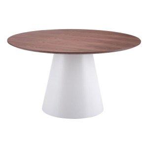 "53.5"" X 53.5"" X 29.5"" Slim Round Dining Table"