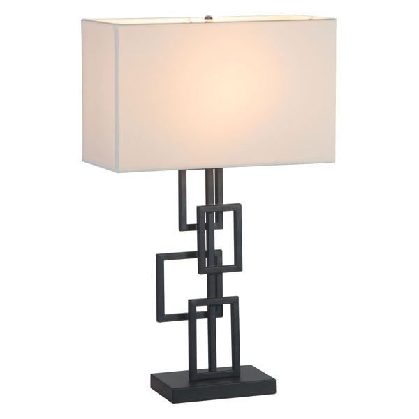 "12"" X 12"" X 24"" York Brass Table Lamp"