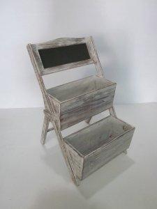 """1"""" x 10"""" x 9"""" Gray, Wood Shelf - 2 Piece"""