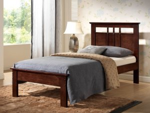 """79"""" X 47"""" X 41"""" Twin Cappuccino Bed"""