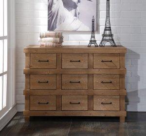 """44"""" X 19"""" X 32"""" Antique Oak Dresser"""