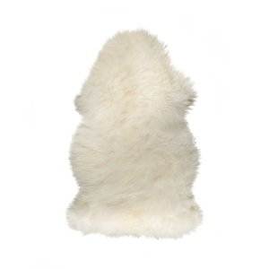"24"" x 36"" x 1.5"" Natural Single Sheepskin - Area Rug"