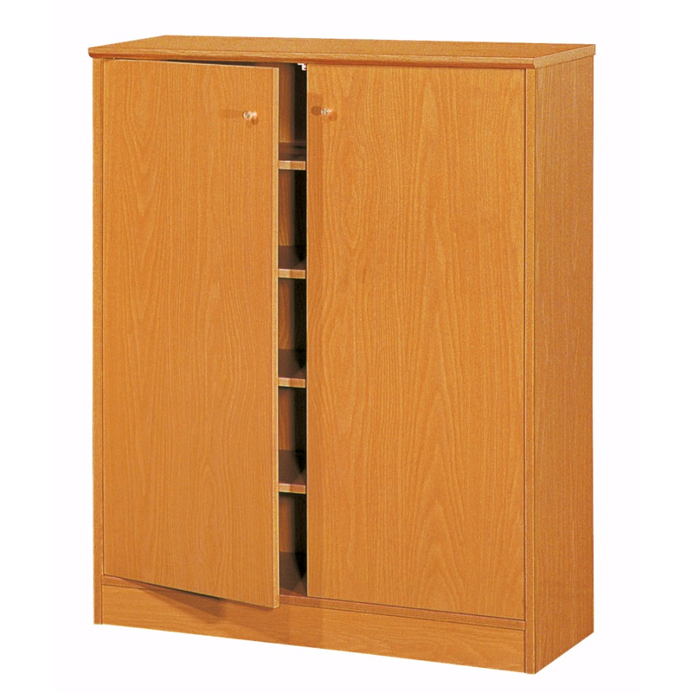 Stylish and Sophisticated Shoe Cabinet With Double Doors, Brown