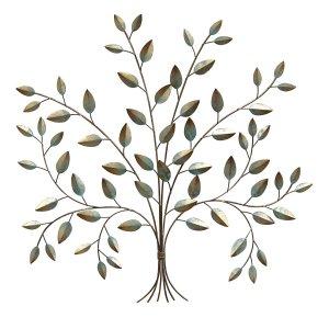 """24"""" X 0.5"""" X 24"""" Patina Tree Of Life Wall Decor"""