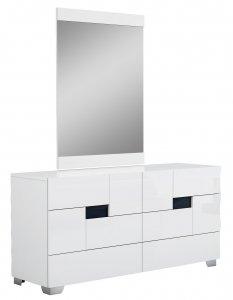 "30"" Superb White High Gloss Dresser'"