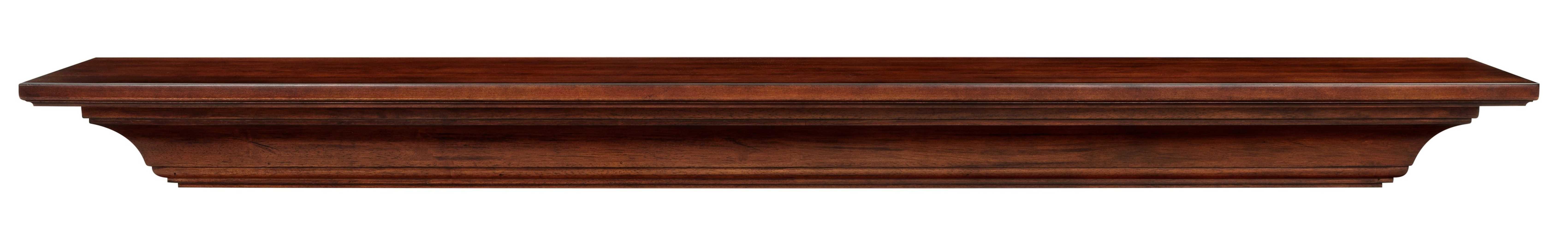"60"" Elegant Antique Wood Mantel Shelf"