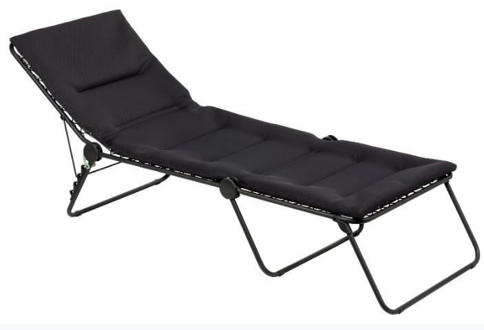 28.3'' X 83.9'' X 27.6'' Acier Steel Aircomfort Sunbed